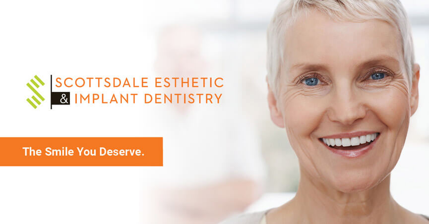 Scottsdale Cosmetic and Implant Dentist | Scottsdale Esthetic & Implant Dentistry Social Media Share Graphic